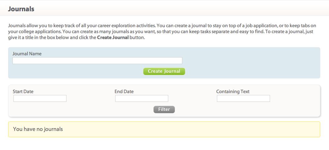 California CareerZone Workbook - Career Center